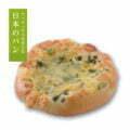 (ごはんパン)と西京味噌とねぎのピッツァ