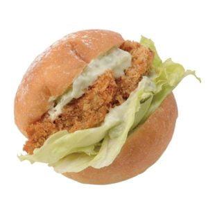 (ごはんパン)鰤カツバーガー