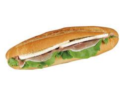 生ハム&クリームチーズサンド