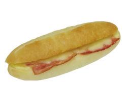フォカッチャサンド(ベーコン&チーズ)