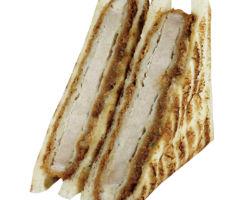厚切り三元豚のロースカツサンド